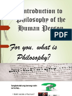 Introduction to Philosophy1