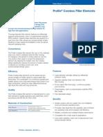 Pall Profile Coreless Filter