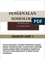 Unit 1 Sosiologi Pak