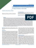 Thermo Electric Sensitivity Fractal Dimension for Characterizing Shajara Reservoirs of the Permo-Carboniferous Shajara Formation, Saudi Arabia