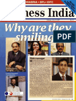 1997-02 Business India Executive Frontrunners Profile of Vishvjeet Kanwarpal CEO GIS-ACG