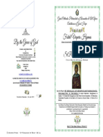 2019-26 July Vespers - St Paraskeve of Rome & Nicomedian Martyrs