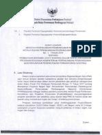 surat edaran Menteri PPN/Bappenas