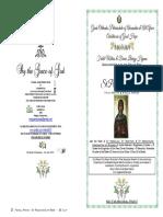 2019 - 26 July Matlit- St Paraskeve - Nicomedian Martyrs
