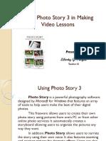 Using Photo Story 3
