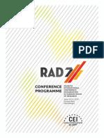 RAD 2019 Programme