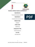 HSSN Assignment Research Paper (APIIT)
