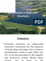1- Introduction to Hydraulic Structures