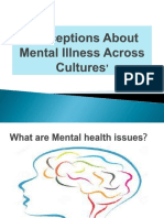 Perceptions About Mental Illness Across Cultures'