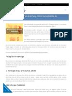 Mercadeoparaemprendedores Com Blog Consejos Para Hacer Un Brochure Mercadeo
