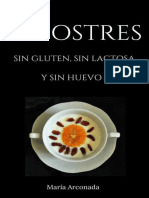 25 Postres Sin Gluten, Sin Huevo, Sin Lactosa