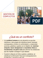 PPT Gestión de Conflictos