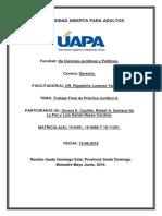 Trabajo Final de Practica Jutidica II. Luis Daniel Reyes.