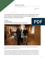 Fernando Vallespín La obsolescencia del bien común  elpais.com