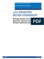 2019.06.28.2017 Disaster Relief Oversight.strategy Needed to Ensure Agencies' Internal Control Plans Provide Sufficient Information.gao-19-479.700053