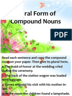 Plural Forms of Compound Noun