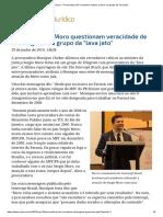 ConJur - Procuradora Não Reconhece Críticas a Moro Em Grupo Da _lava Jato