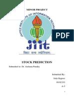 Stock Market Prediction.txt