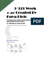 PEDH 121 Week 1-20 Created By Kuya Piolo.docx