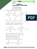 Acidic Nature of Organic Compounds