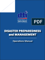 DTI Disaster Preparedness and Management Operations Manual