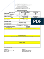 Death Report Form