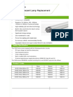 LED Tube Datasheet 1(1)