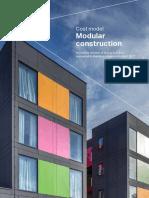 Cost Model Modular Construction