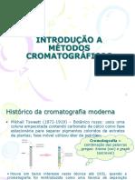 Introdução a Cromatografia Marcone 2016