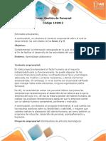 Contexto Para El Desarrollo de Las Actividades Fase 2 y Fase 3
