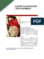 El Afecto Desde La Perspectiva de Piera Aulagnier