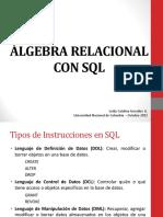 Ejemplo Algebra Relacional
