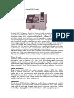 Pengetahuan Dasar Mesin CNC Lathe