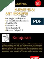 Aktualisasi Nilai Anti Korupsi Kelompok III - Copy