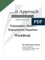 Workbook_Trigonometric Equations by MC Sir