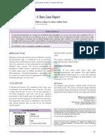 Aspergillus Salpingitis a Rare Case Report