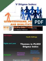 HappyHealthyHot1-PLHIV Stigma Index Questionairre