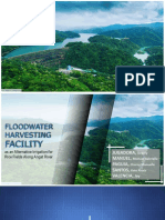 Floodwater harvesting facility (Thesis proposal)