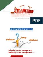 Leadership Dalam Pelayanan Kebidanan