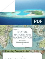 Lesson 4 - States, Nations, And Globalization