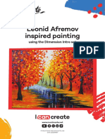 Leonid Afremov Inspired Lesson