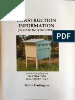 Construction Information for Dartington Hives