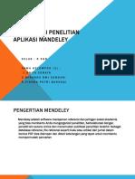 Ppt Mendeley Kel.1