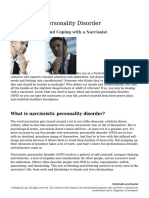Tips for Spotting and Coping With a Narcissist
