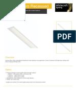 Avenue Micro Recessed Datasheet