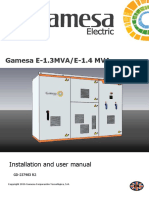 Gamesa 1.4 MVA inverter drawing