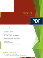 Mongolia Powerpoint Final