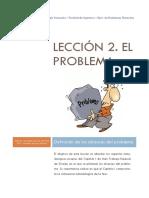 Lección 2. El Problema_2