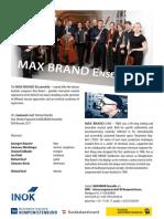 MAX BRAND Ensemble Färöer 2019