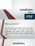 Jurisdiction Part 1
